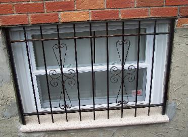 window bar, steel bar, safety bar