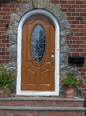arch top door, round top door.round top entrance door