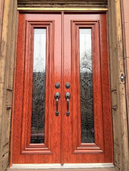 steel doors, entrance doors, fiberglass doors, roundtop