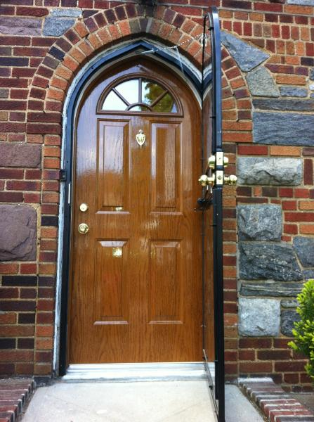 Insulated Storm Security Door : Arch top doors archtop round special