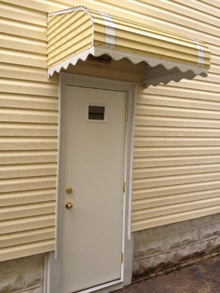 Outswing door odl brisa bronze standard double door for Exterior outswing door