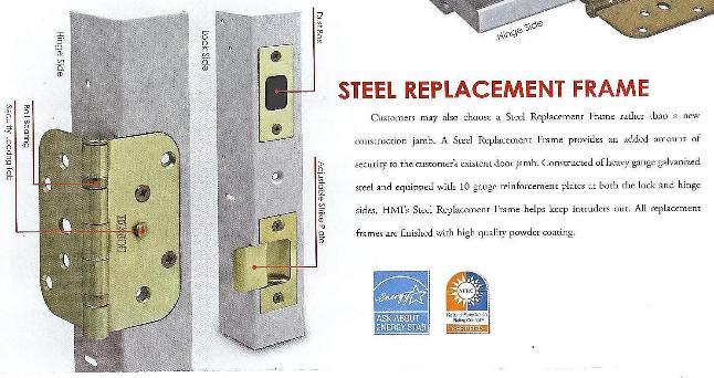 Door Jam Insulation Strips : Insulated doors steel fiberglass wood stain