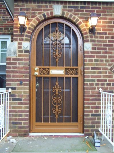 Custom Round Doors : Security doors safety tempered glass screens