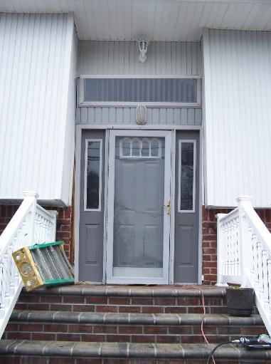 Photo Album Bow Windows Before And After Doors Entrance