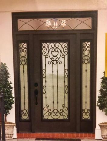 Entrance Door Insulated Doors Fibergl Steel Iron Front